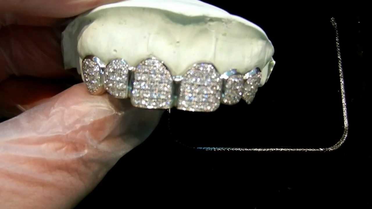 K18WG Diamond GRILLZ (18KWGドダイヤモンドグリルズ