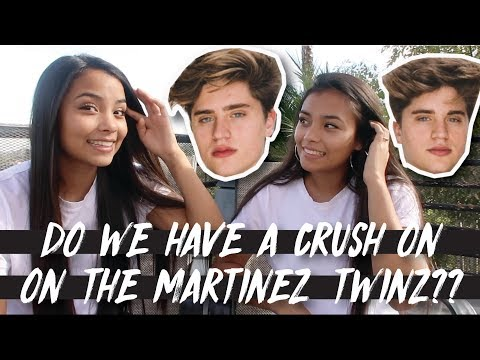 DO WE HAVE A CRUSH ON THE MARTINEZ TWINS?!? // Updated Q&A