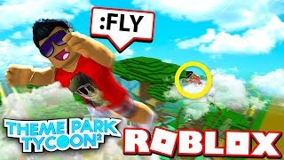 HOW TO FLY in Theme Park Tycoon! (Roblox)