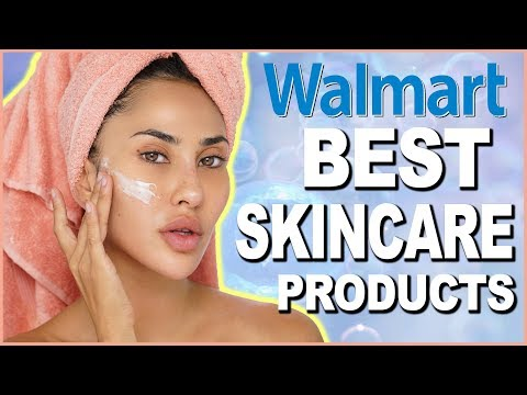 WALMART'S BEST SKINCARE PRODUCTS FOR SENSITIVE SKIN | BrittanyBearMakeup