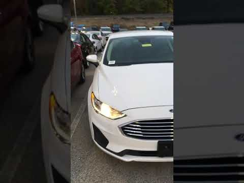 2019 Ford Fusion Hybrid SE in Oxford White