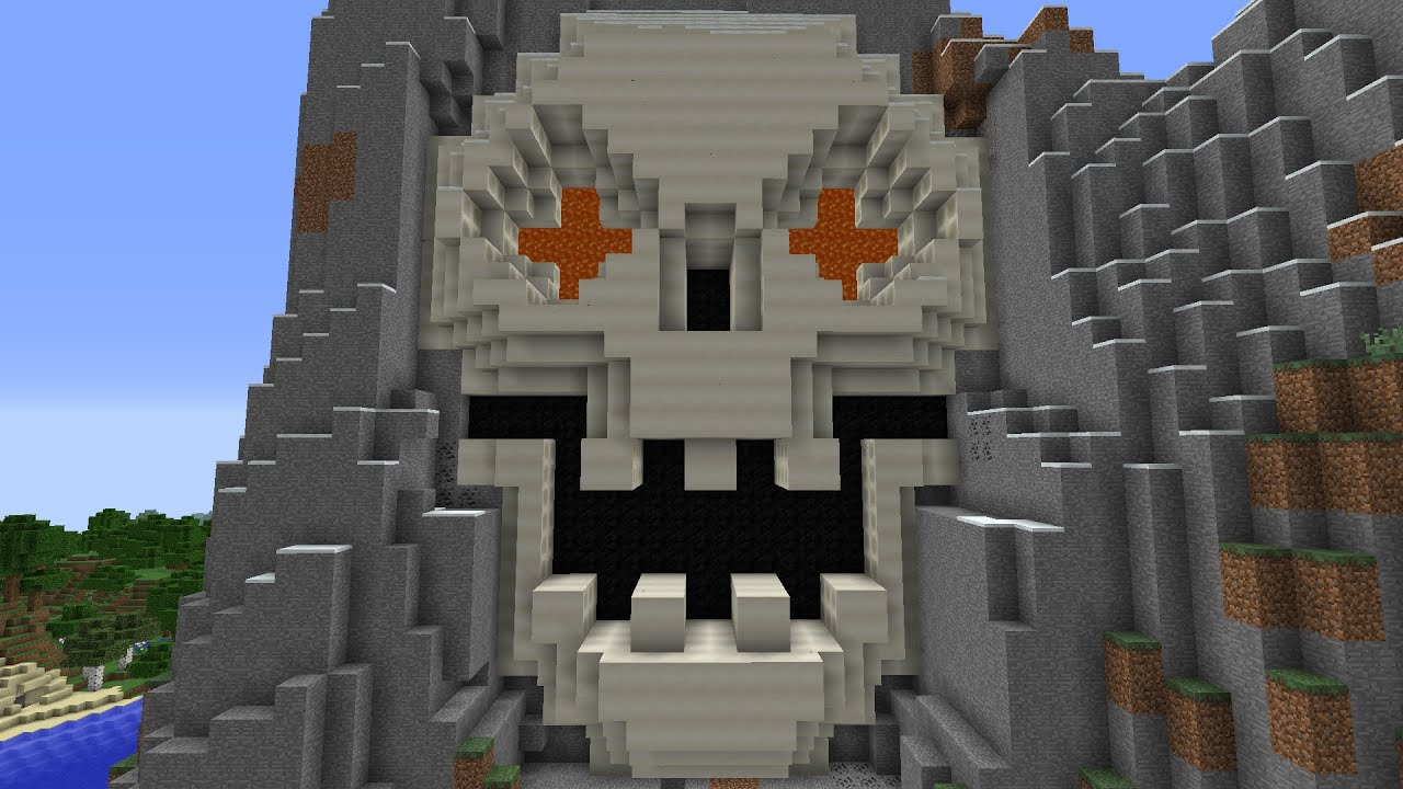 how to get your own skull in minecraft