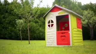 Детский домик Smoby Jura 310263(Купить Детский домик Smoby Jura 310263 Вы можете в нашем интернет - магазине детских товаров и игрушек «Смешинка»., 2017-02-28T17:50:27.000Z)
