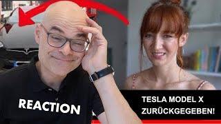 Reaction auf Mirella: Tesla Model X zurückgeben | dieserdad