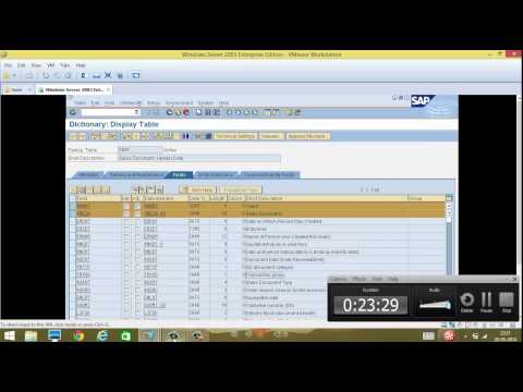 Day 3 - SAP Database Tables, relation, Maintenance