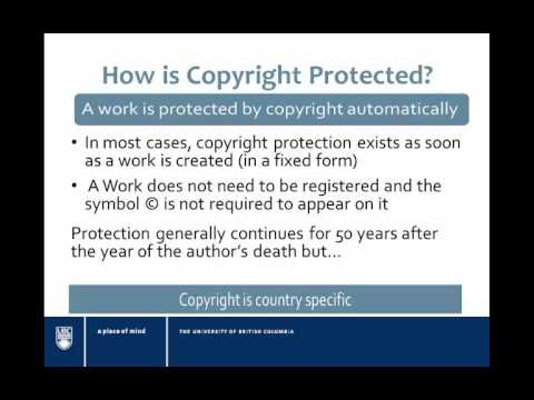 Copyright Basics for Open Educational Resource Repositories