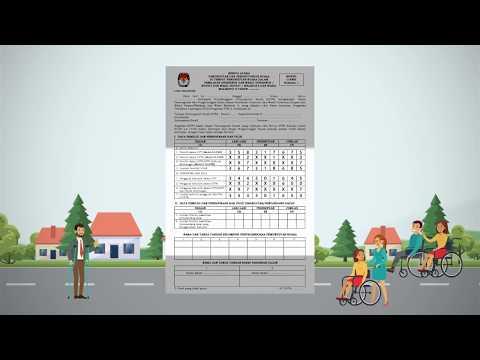 Video Panduan Tata Cara Pengisian Formulir C Pada Pemilihan Serentak 2018
