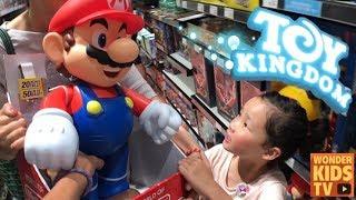 엄청 큰 장난감가게 토이킹덤 장난감쇼핑! 스타필드 토이킹덤 장난감가게 Giant Toy Store