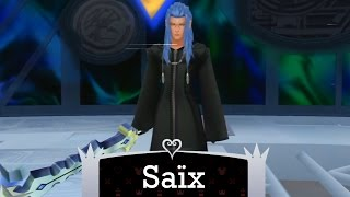 KH 2.5 HD ReMix - Level 1 Data Saix (no damage/with restrictions)