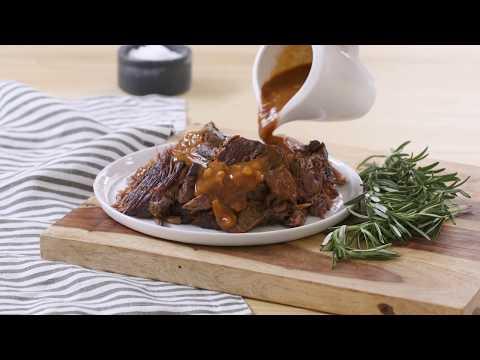 Easy Pot Roast | English Roast Recipe