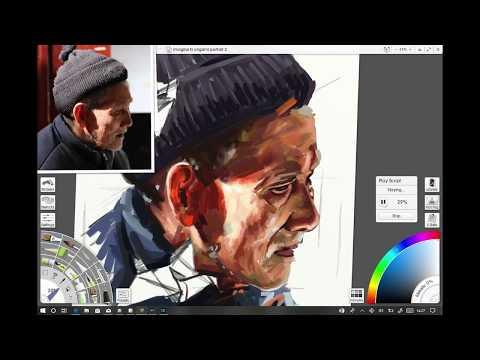 Paint expressive portrait art with ArtRage 5 | Creative Bloq