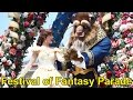 Disney Festival Of Fantasy Parade 2017 At Magic Kingdom, Walt Disney World - Wbelle & Beast