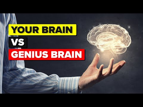 How Does Your Brain Compare to a Genius's Brain