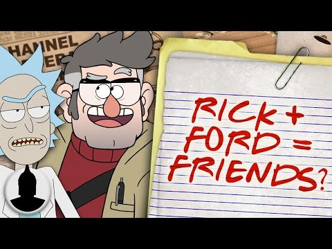 Thumbnail: Gravity Falls and Rick & Morty Are Connected (Confirmed?!) Cartoon Conspiracy (Ep. 140)