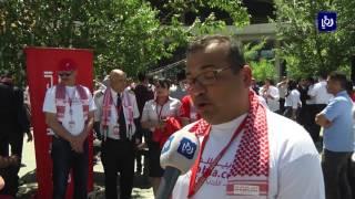 الشركة العربية للطيران تحتفل بعيد استقلال الأردن ال 71