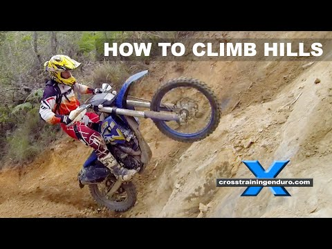 HOW TO DO HILL CLIMBS: Cross Training Enduro Skills