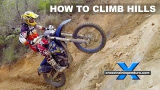 HOW TO DO HILL CLIMBS: Cross Training Enduro Skills