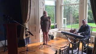 Claire Malone Wedding Ceremony singer sings A Thousand Years Live - Twilight Movie