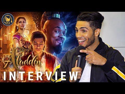 Mena Massoud on Making Aladdin with Will Smith
