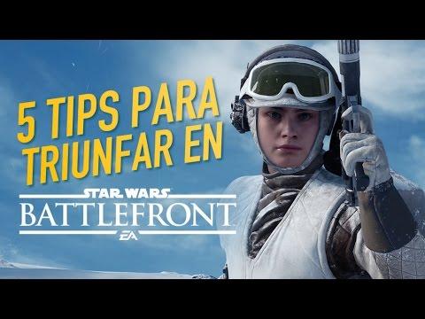 5 tips para triunfar en Star Wars Battlefront