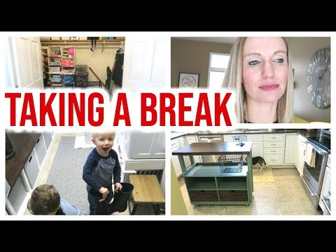 TAKING A BREAK! | DAY IN THE LIFE OF A BUSY STAY AT HOME MOM 2019