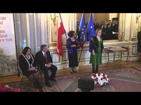 A visit of the President of the Republic of Poland Bronisław Komorowski in New York