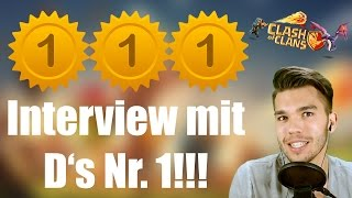 CLASH OF CLANS Deutsch: Interview mit D's Nr. 1!!! ✭ Let's Play Clash of Clans