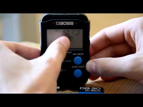 Boss DB-30 Metronome (review)
