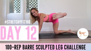 GET SCULPTED LEGS & THIGHS IN 30 DAYS CHALLENGE! Day 12: 100 Praying Mantis! #StretchyFit100