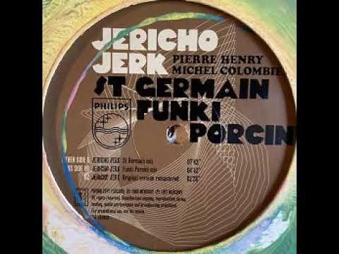 """Pierre Henry & Michel Colombier """"Jericho jerk"""" (St Germain mix) 1997 Philips"""