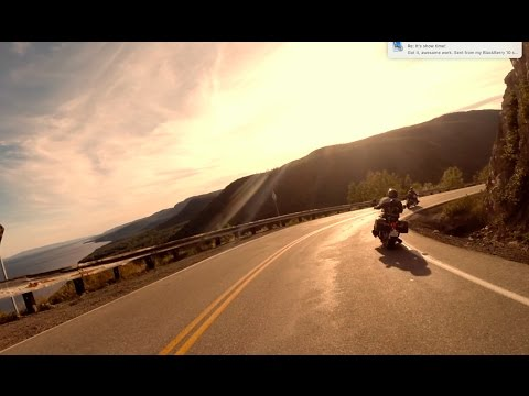Motorcycle Ride: Cabot Trail Cruise 2016 - A short film. (explicit language)