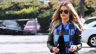 Khloe Kardashian Races Over To Rob's Birthday