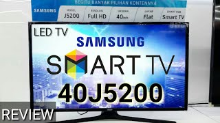 REVIEW LED TV SAMSUNG SMART TV 40J5200 indonesia HD