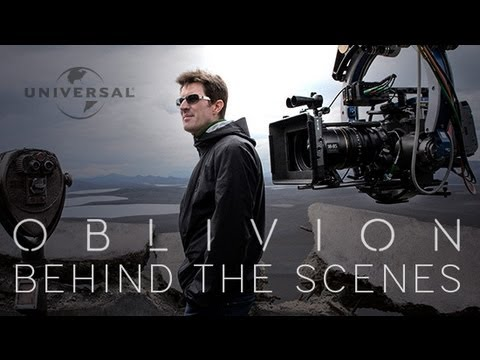 Oblivion Behind The Scenes With Cast Commentary Tom