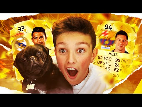 OMFG!!! MY DOG GOT MESSI AND RONALDO IN THE SAME PACK!