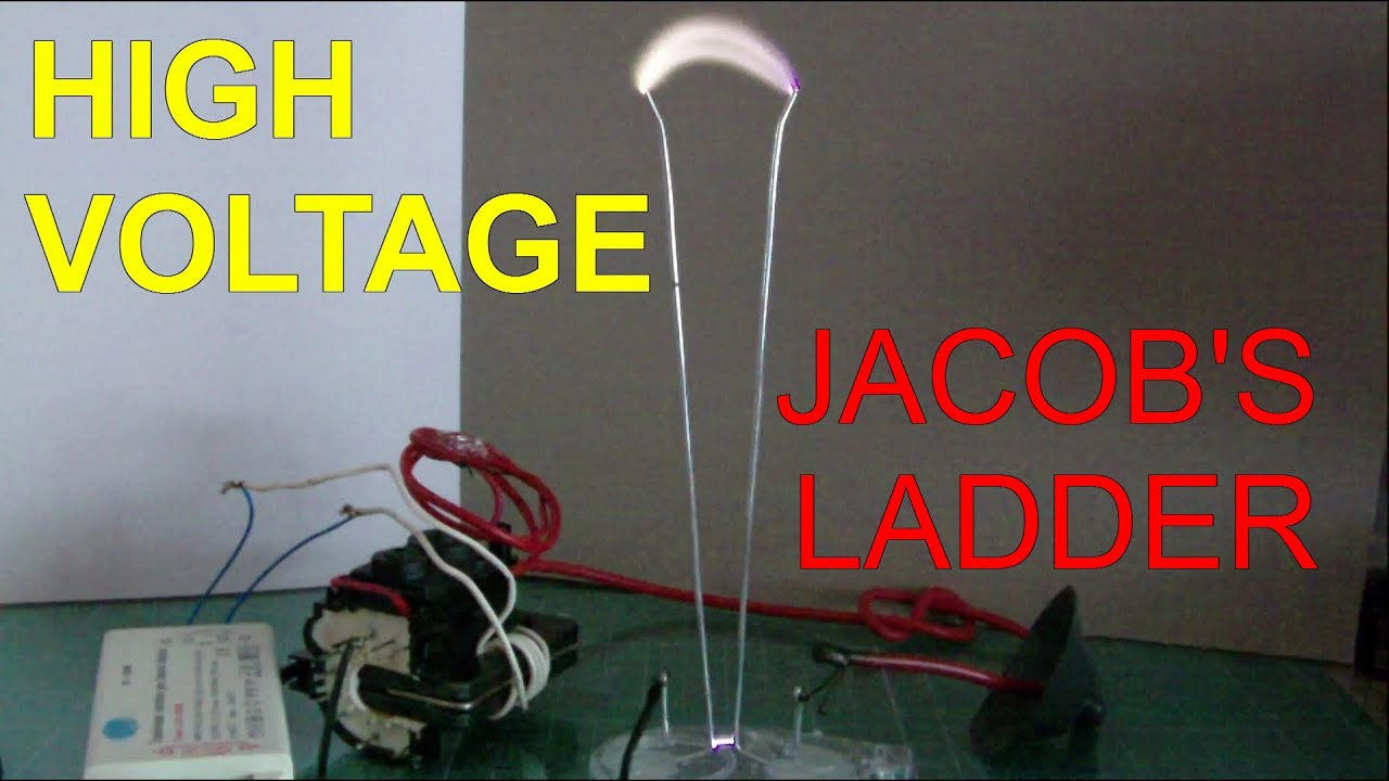 how to make a jacob s ladder travelling electric arc super easy  [ 1280 x 720 Pixel ]