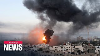 At least 40 people killed by rockets and airstrikes in Israel and Gaza Strip