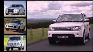Наши тесты - Land rover Discovery 4 - Range rover Sport часть 2