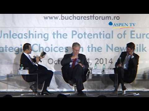 Charles Ries at Bucharest Forum 2014 - Part 1/3