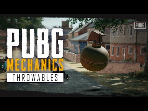 PUBG Mechanics - Throwables