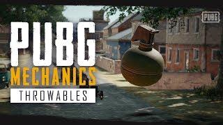 PUBG Mechanics - Throwables