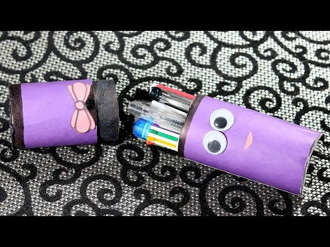 How To Make a Pencil Case | DIY Pencil Box | Back To School