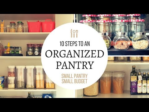 10 Easy Steps to Organize Small Pantry | Organization Ideas & Pantry Makeover in Small Budget