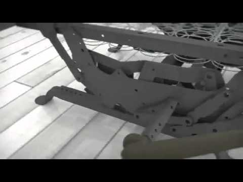 Lane Furniture Recliner Features- Reclining Mechanism - YouTube