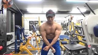 ラットマシンで大胸筋のトレーニング【ケーブルクロスオーバー】に挑戦!