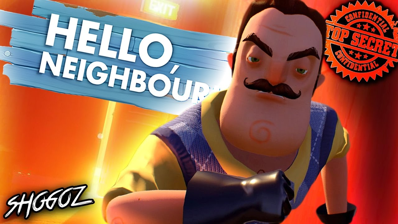 Hello Neighbor How To Get Into The Basement And Beat The