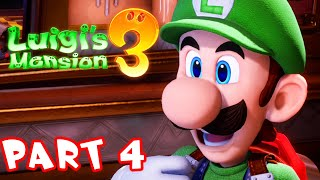 Luigi's Mansion 3 - Part 4 - Gooigi Arrives! Gameplay Walkthrough