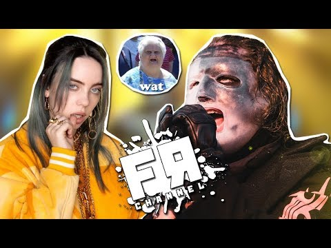 Billie Eilish - Рок!? Slipknot - Хип Хоп!? ЧЁ!????