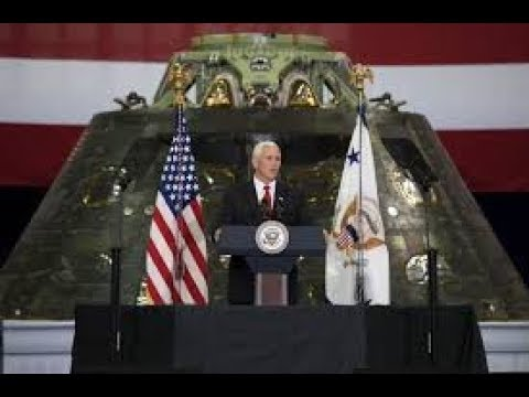 """FLAT EARTH BRITISH, Vice President Pence,""""We Are Returning To the Moon & Beyond.""""!"""