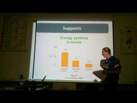 Sport Specific Energy System Task Presentation  Part 2